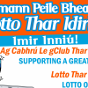 Support the Barna GAA Lotto !!!
